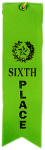 Sixth Place Ribbon