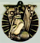Golf Victory Medal